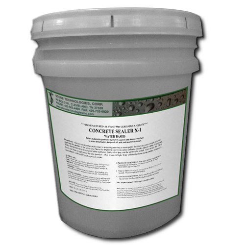 5 gallons of Concrete Sealer X-1