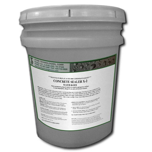 5 gallons of Concrete Sealer X-2