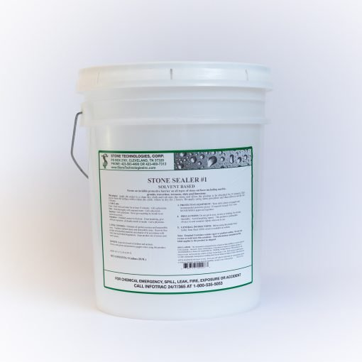 5 gallons of Stone Sealer #1
