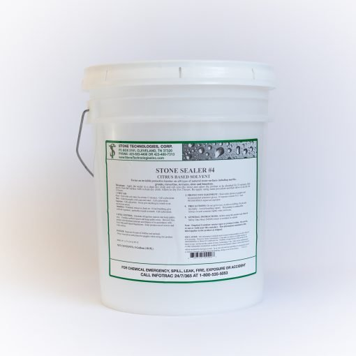 5 gallons of Stone Sealer #4