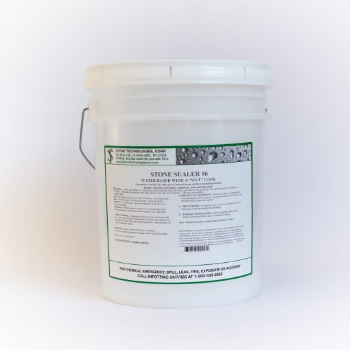 5 gallons of Stone Sealer #6
