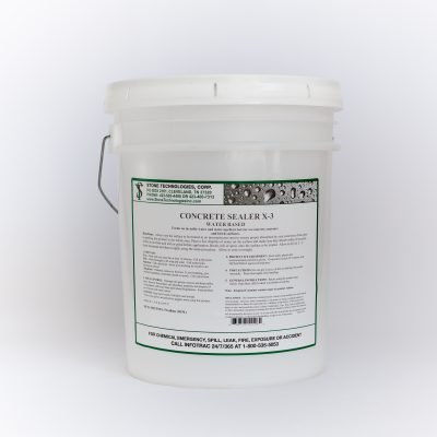 5 gallons of Concrete Sealer X-3