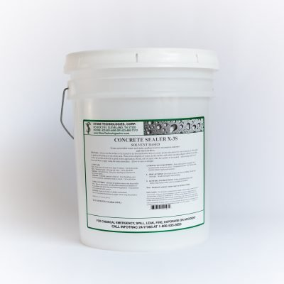 5 gallons of Concrete Sealer X-3S
