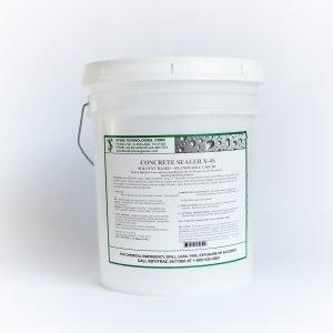 5 gallons of Concrete Sealer X-4S