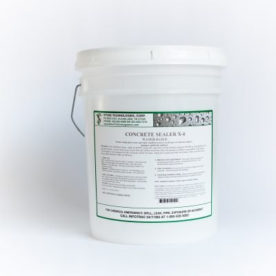 5 gallons of Concrete Sealer X-4