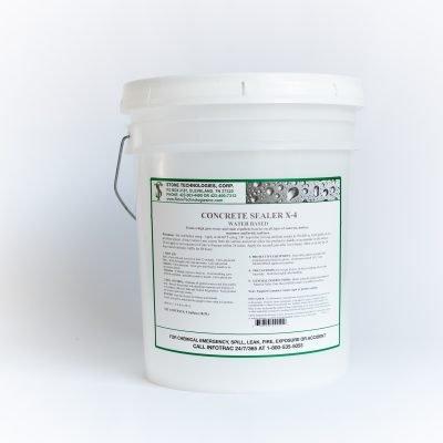 5 gallons of Concrete Sealer X-4