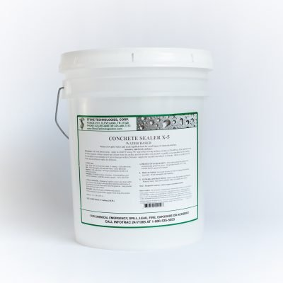 5 gallons of Concrete Sealer X-5