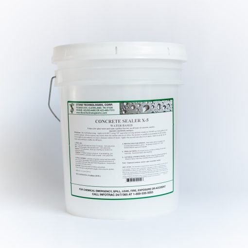 5 gallons of Concrete Sealer X-5