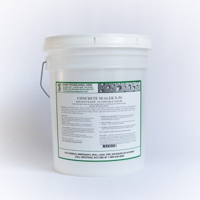 5 gallons of Concrete Sealer X-5S