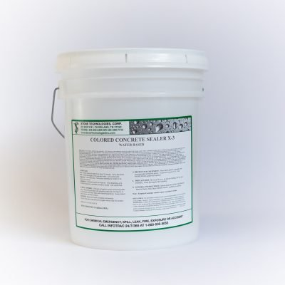 5 gallons of Colored Concrete Sealer X-3