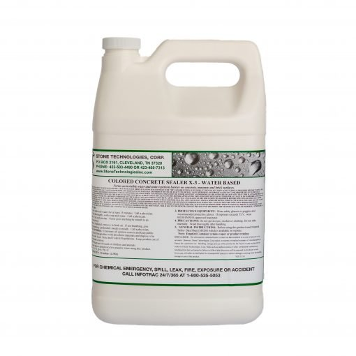1 gallon of Colored Concrete Sealer X-3