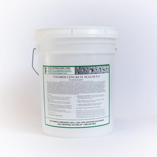 5 gallons Colored Concrete Sealer X-5