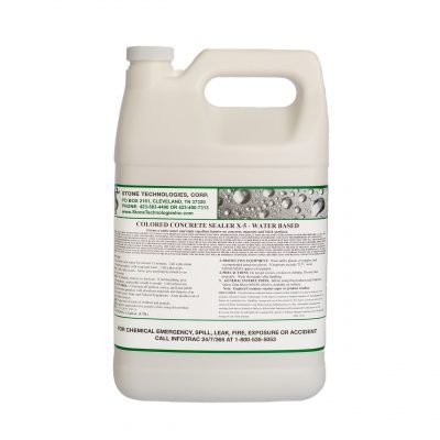 1 gallon Colored Concrete Sealer X-5