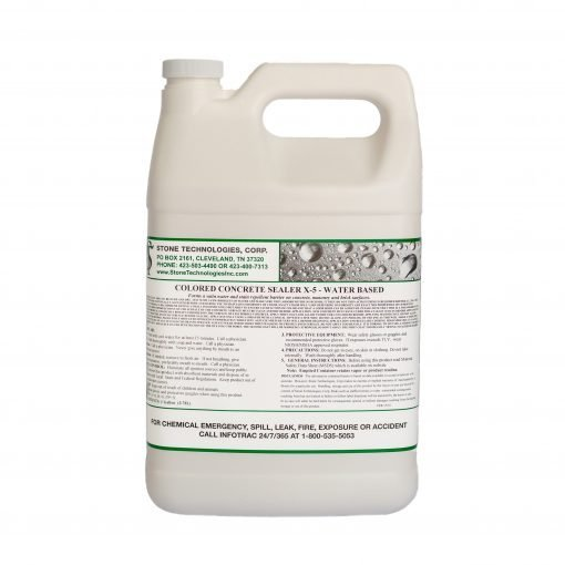 1 gallon Colored Concrete Sealer X-5